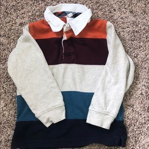 Gymboree Boys casual sweater with collar size 4T